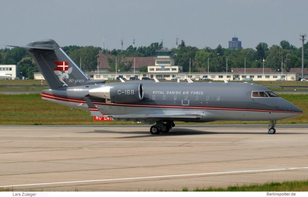 Royal Danish Air Force, Bombardier CL-604 Challenger C-168 (TXL 22.5.2007)