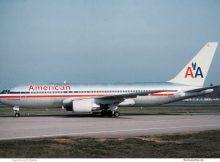 American Airlines, Boeing 767-200ER N316AA (TXL 27.9.1992)