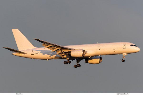 ASL Airlines Belgium, Boeing 757-200(F) OE-LFE (BER 17.12. 2020)