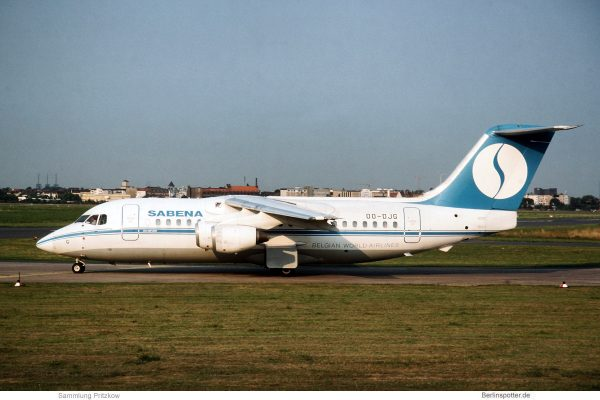 SABENA, BAe 146-200 OO-DJG (THF 1994)