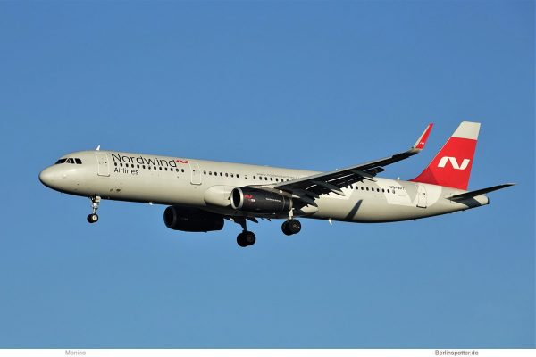 Nordwind Airlines, Airbus A321-200(SL) VQ-BRT (BER 19.12.2020)
