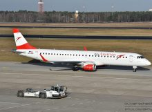 Austrian Airlines Embraer 195 OE-LWD