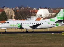 Sprint Air Saab 340A SP-KPR (© Martin L.)