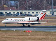 Turkey Gvmt Gulfstream IV TC-GAP (© Jonas)