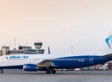 Boeing 737-800 der Blue Air am Tegel Airport (© FBB)