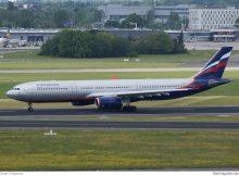 Aeroflot Airbus A330-300 VQ-BCU