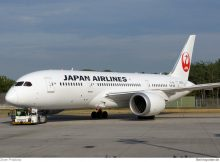 Japan Airlines Boeing 787-8 Dreamliner JA838J (Berlin TXL 21.7. 2016)