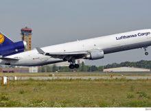 Lufthansa Cargo McDonnell-Douglas MD-11F D-ALCN (Berlin SXF 23.7. 2016)