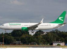 Turkmenistan Airlines Boeing 737-800(WL) EZ-A017 (Berlin TXL 29.8. 2016)