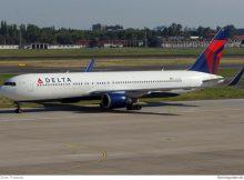 Delta Air Lines Boeing 767-300(WL) in Berlin-Tegel