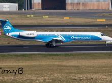 Dniproavia Embraer 145LR UR-DPB (TXL 14.9. 2016)