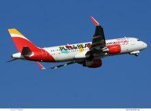 Iberia Express, Airbus A320-200(SL) EC-LYE (TXL 28.1. 2017)
