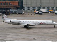 fly Kiss Embraer 145LR F-HFKE (TXL 15.10. 2016)