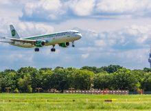 Germania Airbus A321 in Berlin (© K. Kiessling)