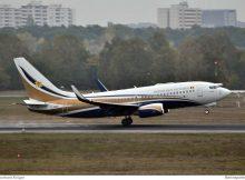 Tchad Gvmt., Boeing 737-700(BBJ) TT-ABD (TXL 13.10. 2016)