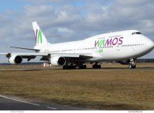 Wamos Air, Boeing 747-400 EC-MDS (TXL 5.3. 2017)