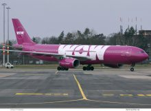 Wow Air, Airbus A330-300 TF-GAY (SXF 11.3. 2017)