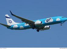 Boeing 737-800 der UP by El Al (© O. Pritzkow)