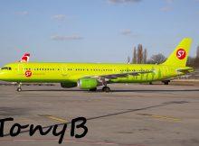 S7 Airlines, Airbus A321-200 VP-BPC (TXL 15.3. 2017)