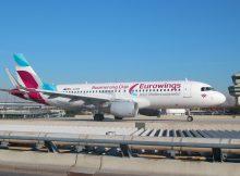 Eurowings, Airbus A320-200 D-AEWM (TXL 28.3. 2017)