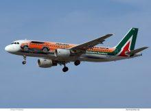 Alitalia, Airbus A320-200 EI-DSW (TXL 1.4. 2017)