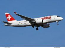 Swiss Bombardier CS100 HB-JBD (TXL 26.3. 2017)