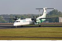 Wideroe, Bombardier Dash-8Q-400 LN-WDF (TXL 12.5. 2017)