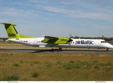 Air Baltic, Bombardier Dash-8Q-400 YL-BBT (TXL 29.5.2017)