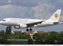 Senegal Gvmt., Airbus A319(CJ) 6V-ONE (TXL 12.6. 2017)