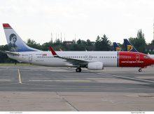 Norwegian Air International, Boeing 737-800(WL) EI-FVJ, Amy Johnson im Tail (SXF 4.6. 2017)