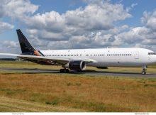 Titan Airways Boeing 767-300ER G-POWD (Berlin TXL 12.6. 2017)