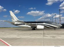 Wuleen Investment Corp., Boeing 737-700(BBJ) VP-CZW (BER 31.5. 2017)