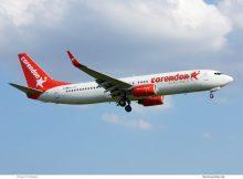 Corendon Airlines Europe, Boeing 737-800(WL) 9H-TJG (TXL 6.7. 2017)