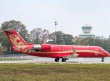 RusLine Bombardier CRJ100ER VQ-BNA (TXL 1.11. 2017)