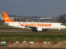 Conviasa Embraer Lineage 1000 (ERJ190) YV3016 (SXF 26.11. 2017)