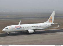 Sun d'Or Airlines, Boeing 737-800(WL) 4X-EKR (TXL 10.1. 2018)
