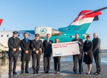 Seit Januar fliegt Luxair zwischen Saarbrücken und Berlin-Tegel (Foto: FBB)
