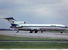 Iran Air, Boeing 727-200 EP-IRU (SXF 13.11. 1977)