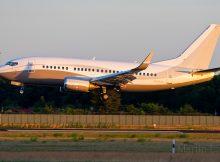 Maleth-Aero, Boeing 737-500(WL) 9H-MAC (TXL 6.6. 2018)