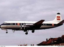 BEA British European Airways, Vickers Viscount 806 G-APIM (THF 08/1960)