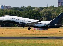 Broadsword Aviation, Boeing 737-300(WL) G-TGPG (TXL 11.6. 2018)