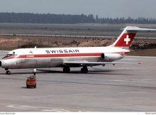 Swissair Cargo, McDonnell-Douglas DC-9-33F HB-IFW (SXF 20.6. 1978)