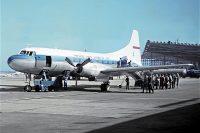 LOT Polish Airlines, Convair CV-240 SP-LPE (SXF 1961)
