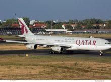Qatar Amiri Flight, Airbus A340-300 A7-AAH (TXL 5.9. 2018)