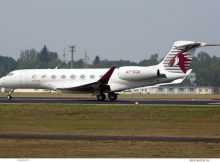 Qatar Executive, Gulfstream G650 A7-CGA (TXL 7.9.2018)