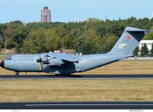Turkish Air Force, Airbus A400M 16-0055 (TXL 26.9.2018)