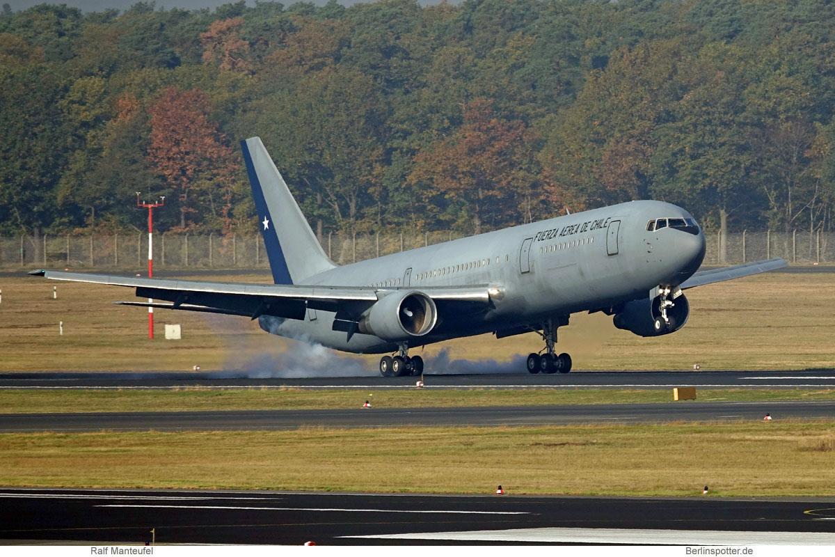 Chile Air Force, Boeing 767-300ER '985' (TXL 10.10.2018)