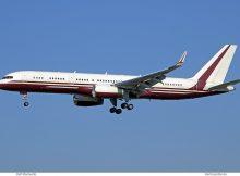 The Yucaipa Companies, Boeing 757-200(WL) N770BB (SXF 11.10. 2018)