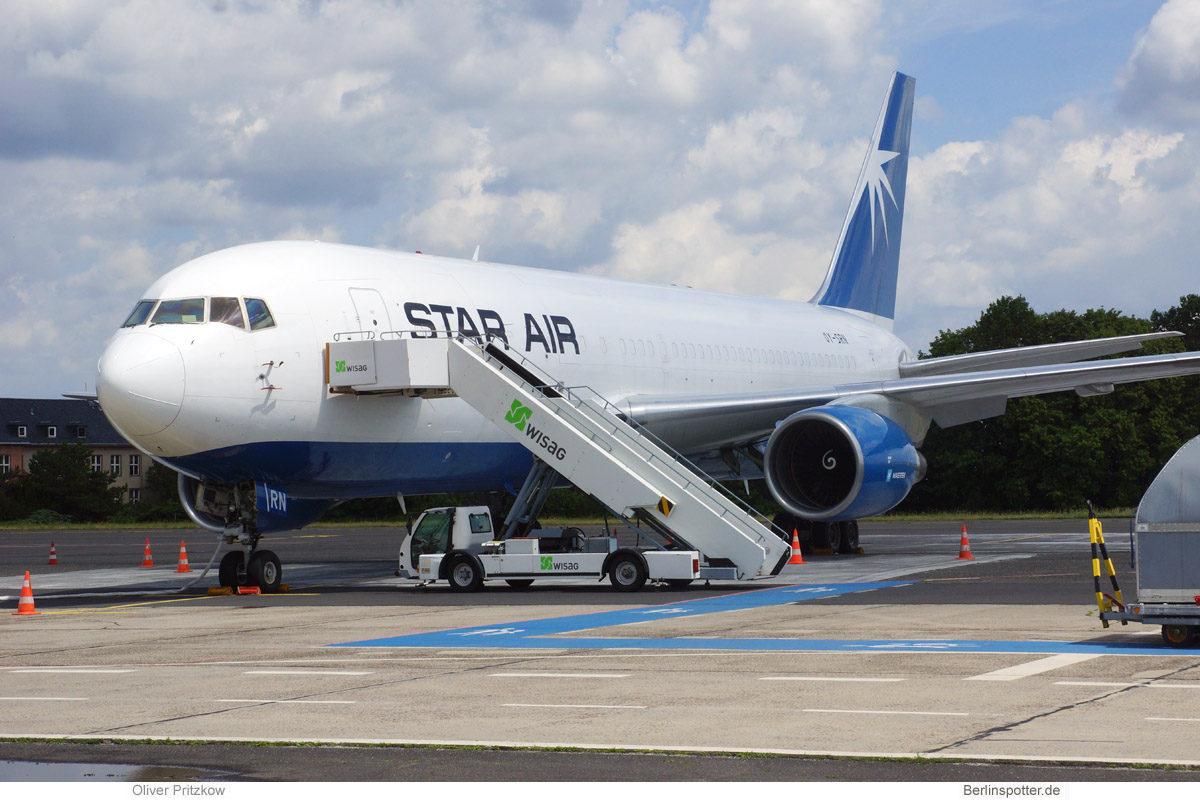 Star Air, Boeing 767-200 (BDSF) OY-SRN (BER 2.7.2021)