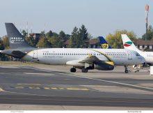 Nesma Airlines, Airbus A320-200 SU-NMA (SXF 6.10. 2018)